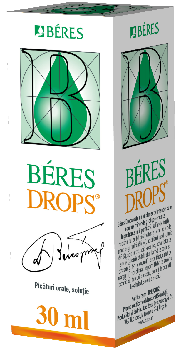 Beres drops, 30 ml, Beres imagine produs 2021
