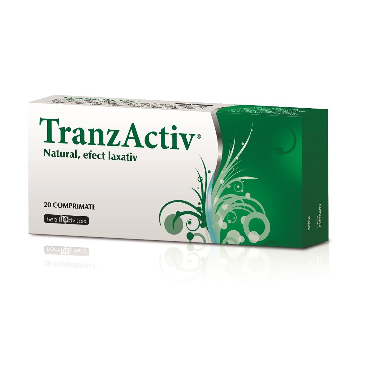 Tranzactiv, 20 comprimate, Health Advisors imagine produs 2021