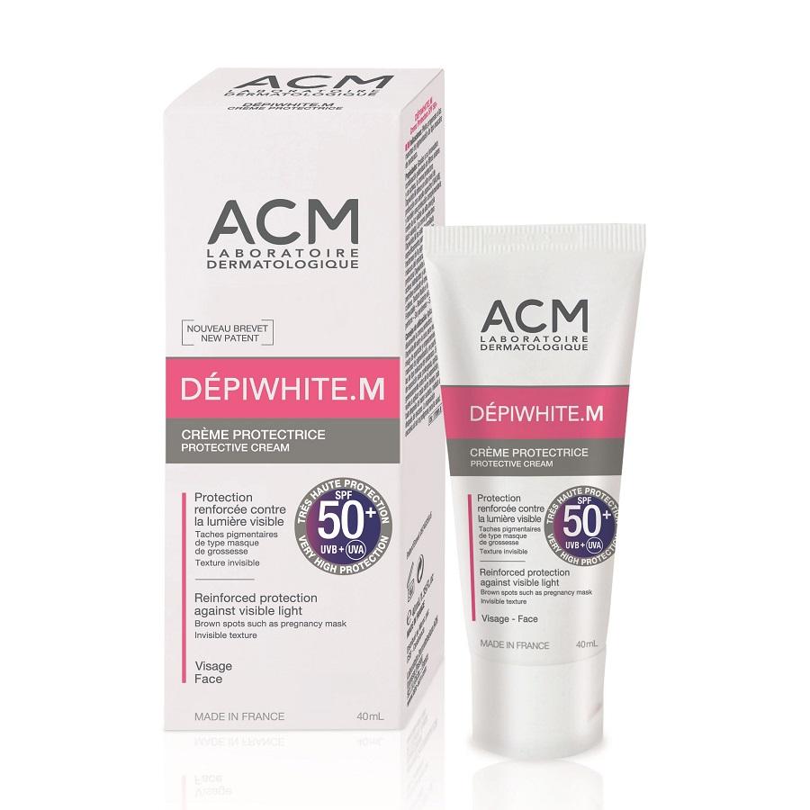 Crema protectoare SPF 50+ Depiwhite M, 40ml, ACM