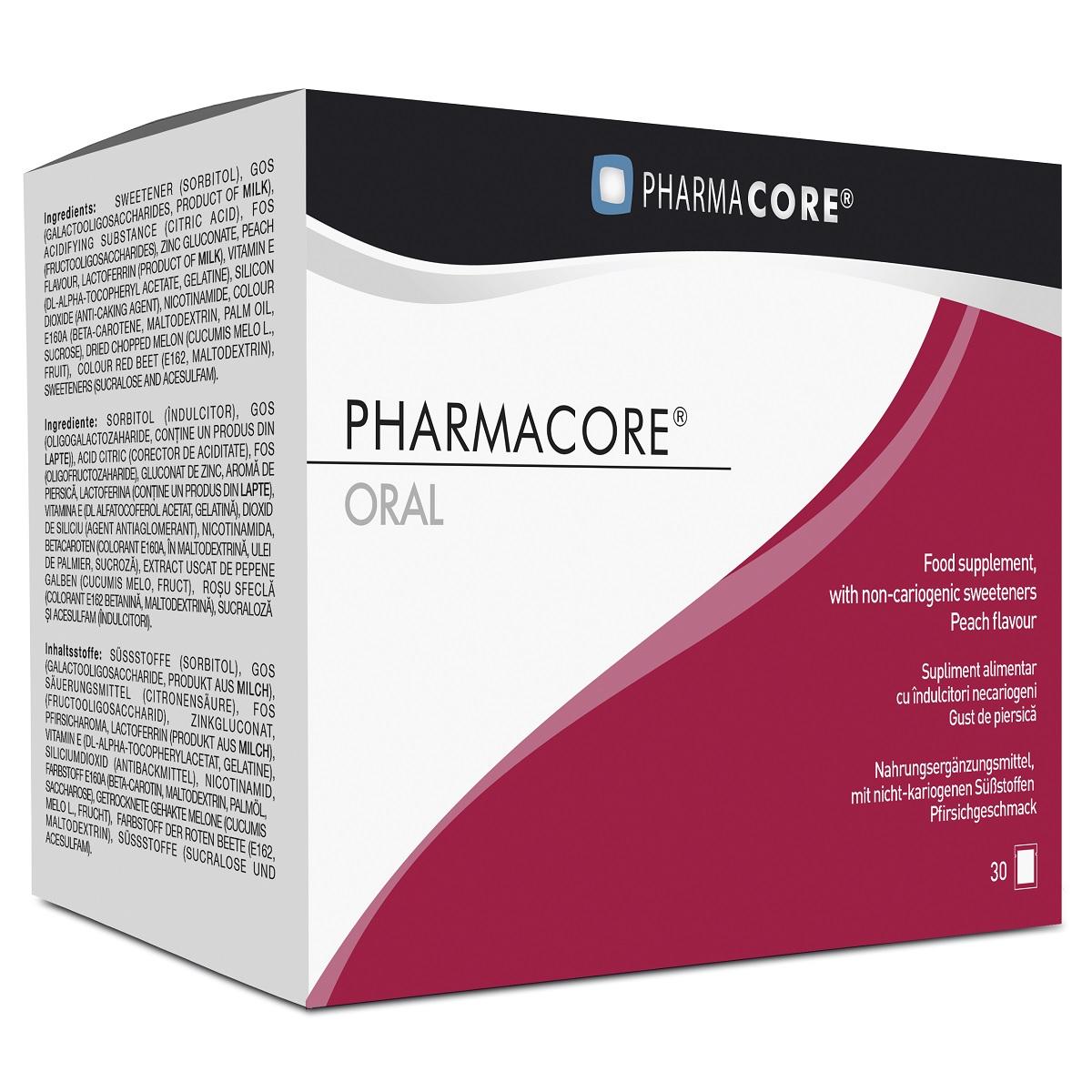 Supliment Oral Acne Control 90 mg, 30 plicuri, Pharmacore drmax.ro