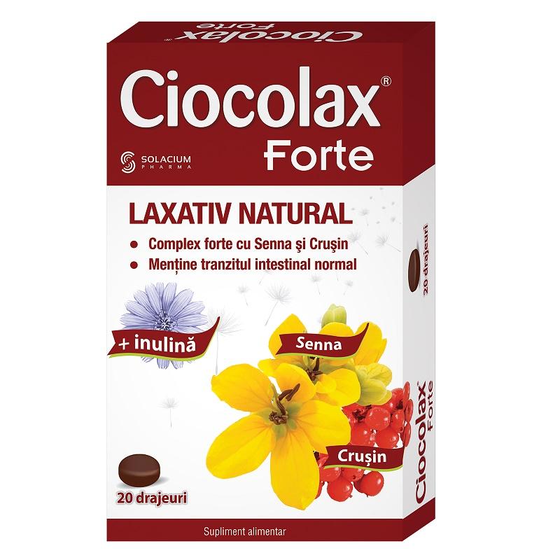 Ciocolax Forte, 20 drajeuri, Solacium imagine produs 2021