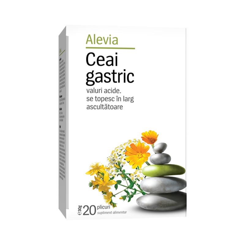 Ceai gastric, 20 plicuri, Alevia imagine produs 2021