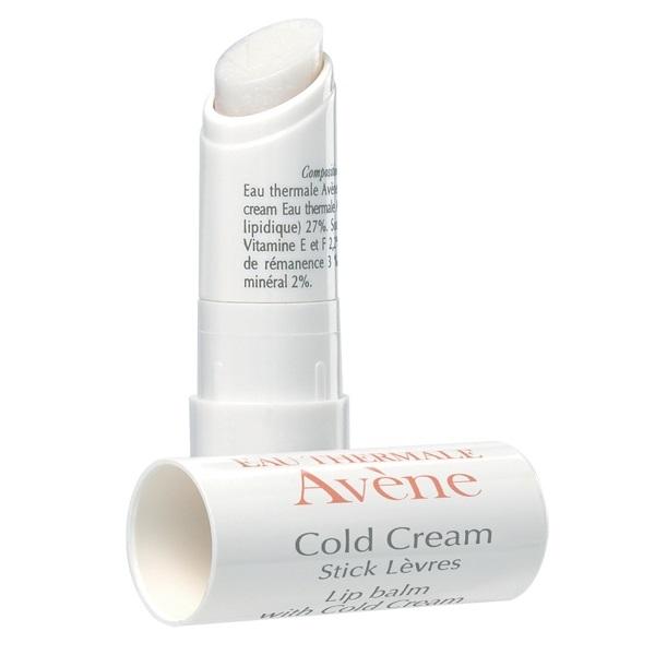 Stick pentru buze uscate sau crapate Cold Cream, 4 g, Avene