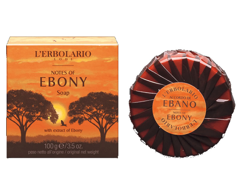 Sapun Notes Of Ebony, 100g, L'Erbolario imagine produs 2021