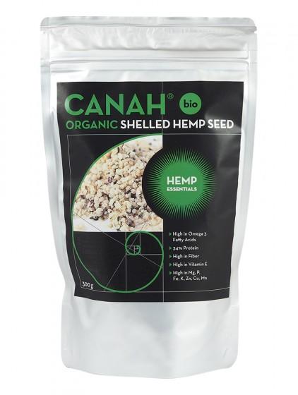 Seminte decorticate de canepa ECO, 300g , Canah drmax.ro