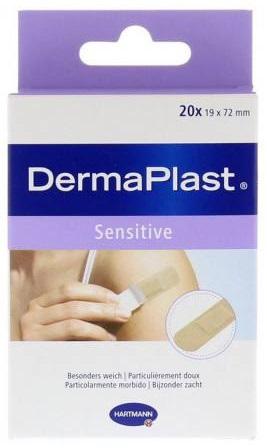 Plasturi pentru piele sensibila, 20 bucati, Dermaplast Sensitive imagine produs 2021