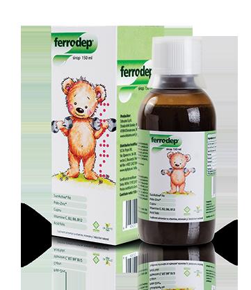 Ferrodep sirop, 150 ml, Dr. Phyto