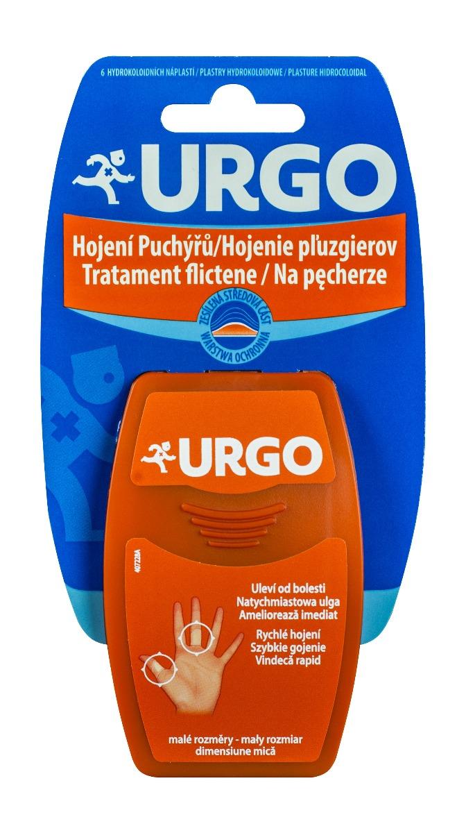 Plasturi pentru tratament Flictene, 6 bucati, Urgo drmax.ro