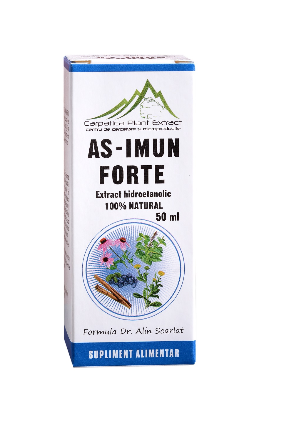 AS - Imun Forte, 50 ml, Carpatica Plant Extract drmax poza
