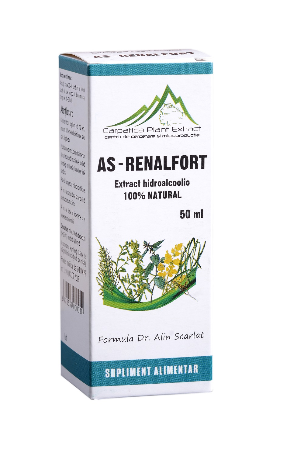 AS - Renalfort, 50 ml, Carpatica Plant Extract drmax poza