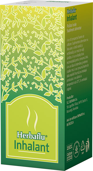 Herbaflu Inhalant, 10 ml, Biofarm imagine produs 2021