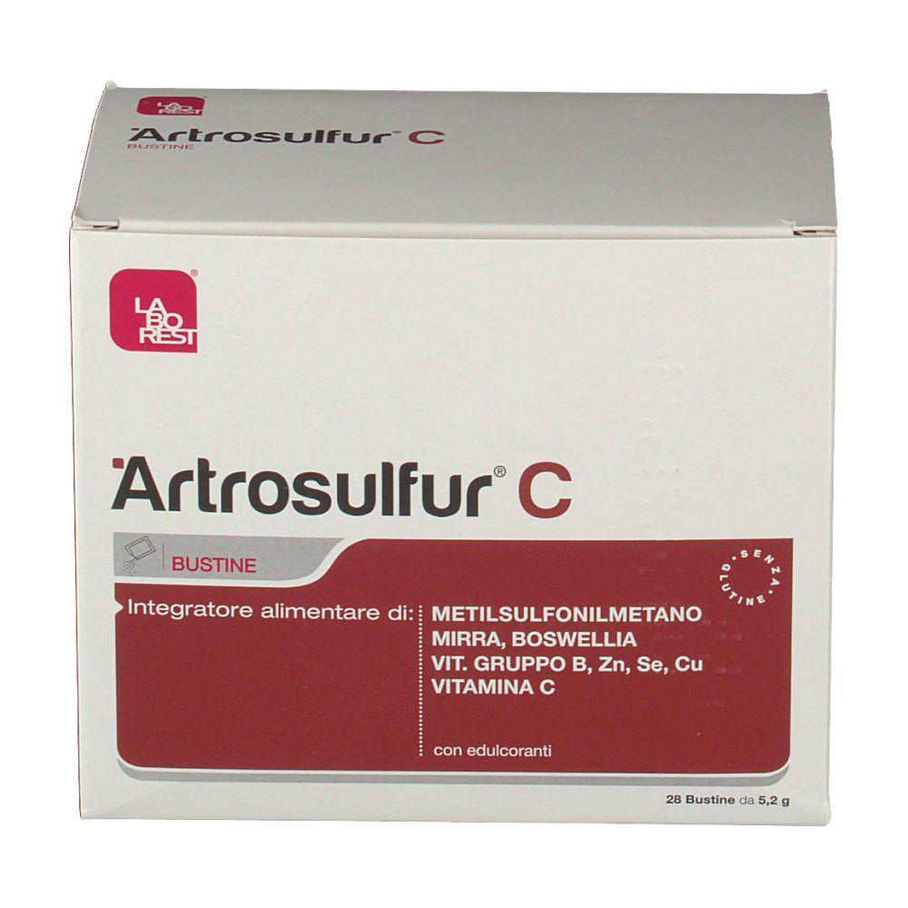 Artrosulfur C, 28 plicuri, Laborest imagine produs 2021