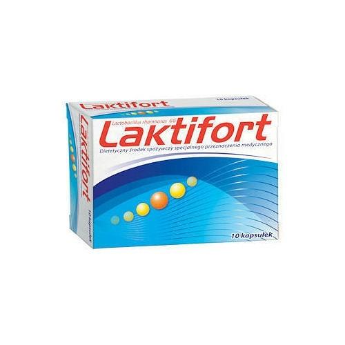 Laktifort, 10 capsule, Peraffarma imagine produs 2021