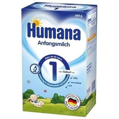 Lapte praf GOS 1, incepand de la nastere, 600 g, Humana drmax.ro