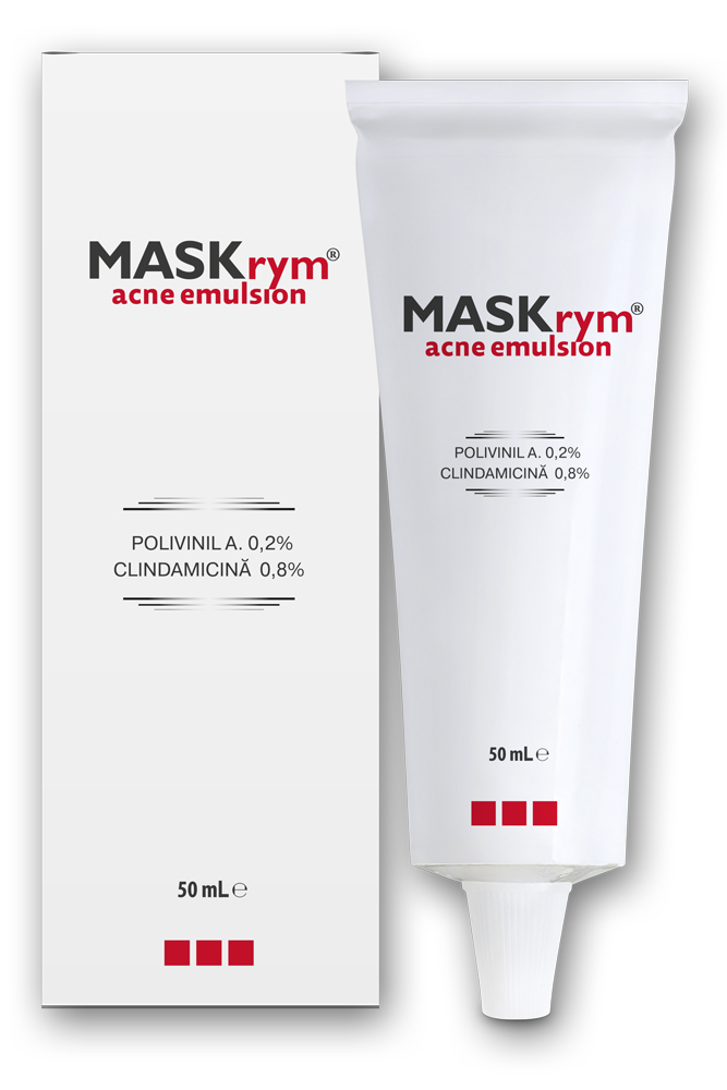 Maskrym Acne emulsie, 50 ml, Solartium drmax.ro