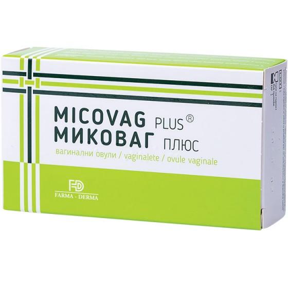Micovag Plus, 10 ovule, Farma-Derma drmax.ro