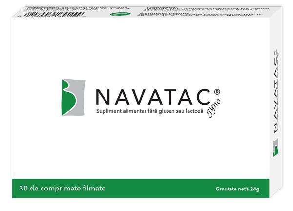 Navatac gyno, 30 comprimate, Solartium drmax.ro