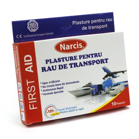 Plasturi pentru rau de miscare, 10 bucati, Narcis imagine produs 2021