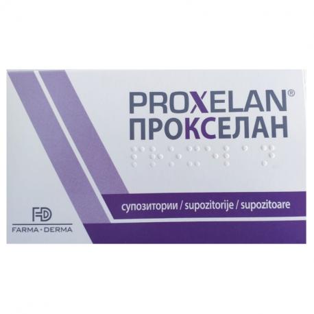 Proxelan, 10 supozitoare, Farma-Derma drmax poza