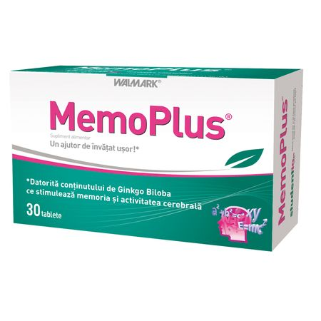 Memoplus, 30 tablete, Walmark drmax poza
