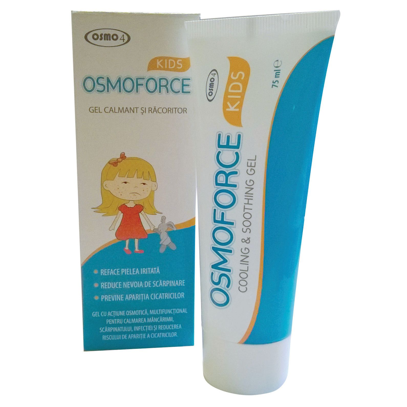Osmoforce gel calmant si racoritor, 75 ml, Osmo