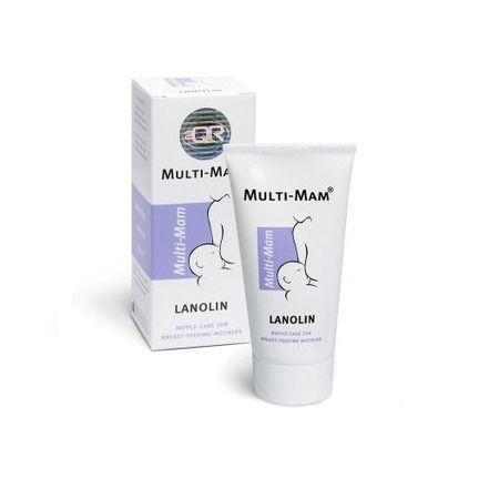 Unguent Multi-Mam Lanolin pentru mameloane uscate si crapate, 30 ml, Bioclin