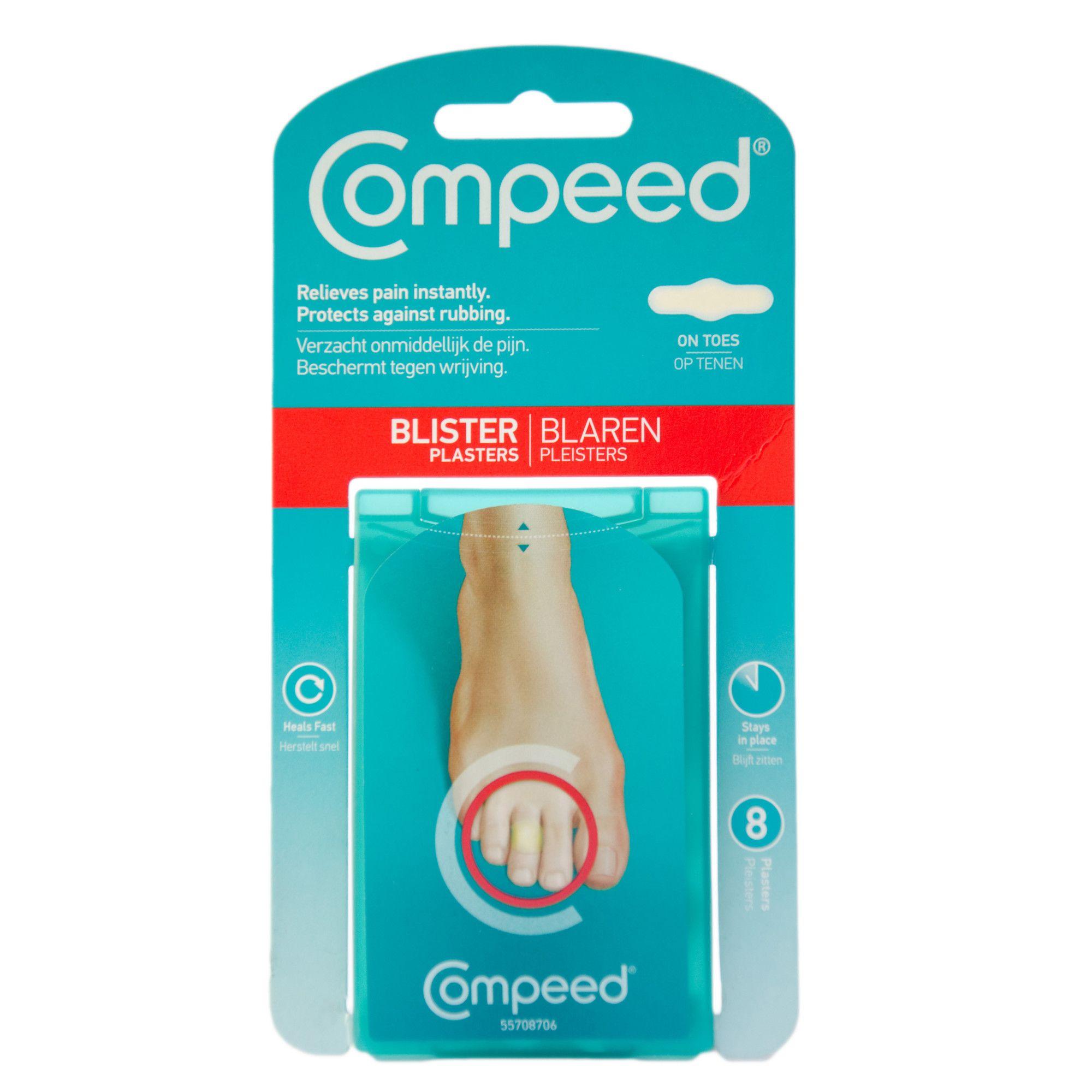 Plasturi pentru basicile degetelor, 8 bucati, Compeed