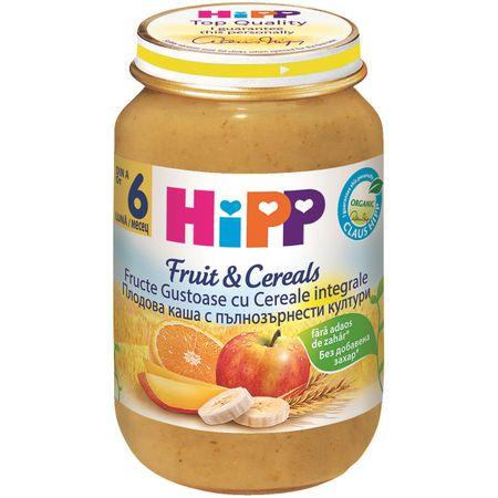 Fructe gustoase cu cereale integrale, incepand de la 6 luni, 190 g, HiPP la preț mic imagine