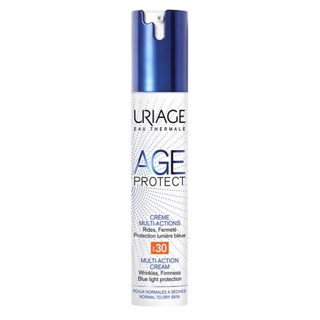 Crema anti-age multi-aging SPF 30 Age protect, 40 ml, Uriage