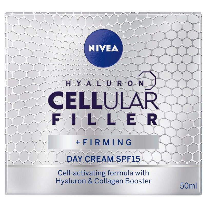 Crema de zi anti-imbatranire Hyaluron CellularFiller SPF 15, 50ml, Nivea imagine produs 2021