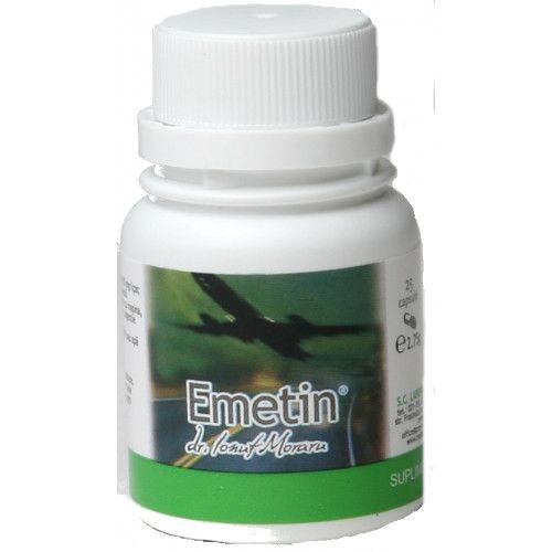 Emetin, 25 capsule, Pro Natura imagine produs 2021