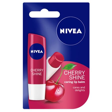 Balsam pentru buze Cherry Shine, 4.8g, Nivea imagine produs 2021