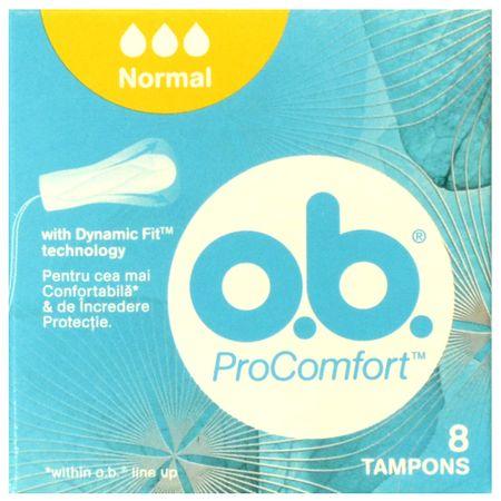 Tampoane Procomfort normal, 8 bucati, O.B. drmax.ro