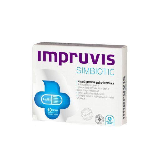 Impruvis Simbiotic, 10 capsule, Bifodan imagine produs 2021