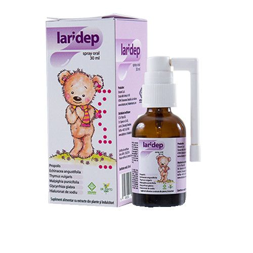 Laridep spray oral, 30 ml, Dr. Phyto