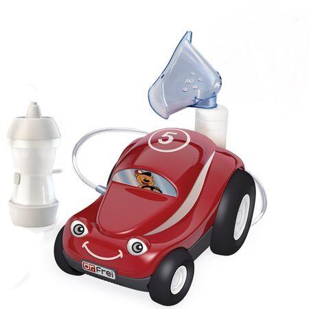 Aparat de aerosoli cu compresor pentru copii, design Turbo Car, Dr. Frei