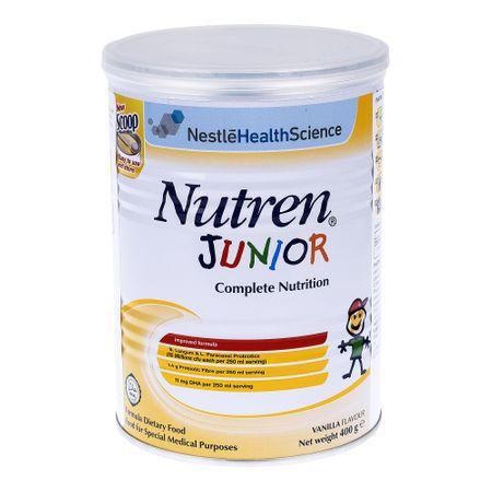 Lapte praf Nutren Junior, incepand de la 12 luni, 400 g, Nestle