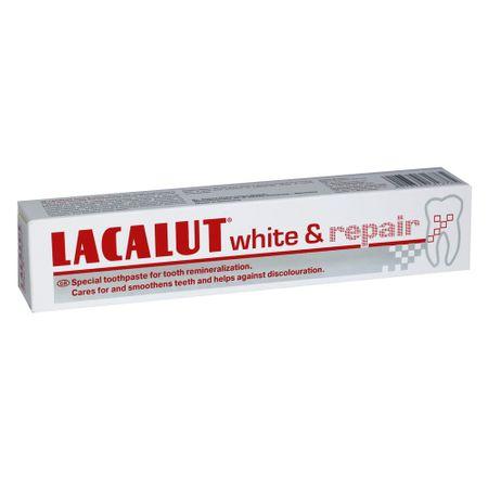 Pasta de dinti medicinala Lacalut White Repair, 75 ml, Theiss Naturwaren drmax.ro