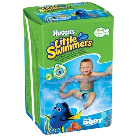 Scutece chilotel pentru copii Little Swimmers, 7-12 kg, 12 bucati, Huggies drmax.ro