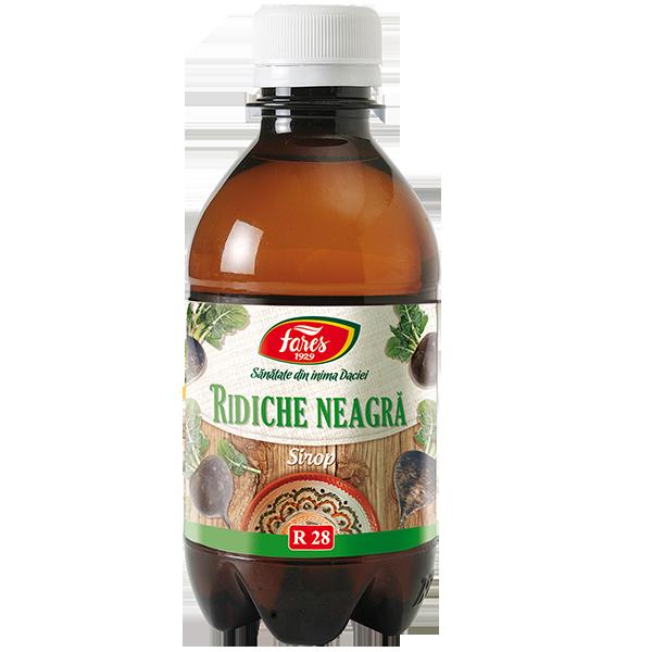 Sirop Ridiche neagra, 250 ml, Fares drmax.ro