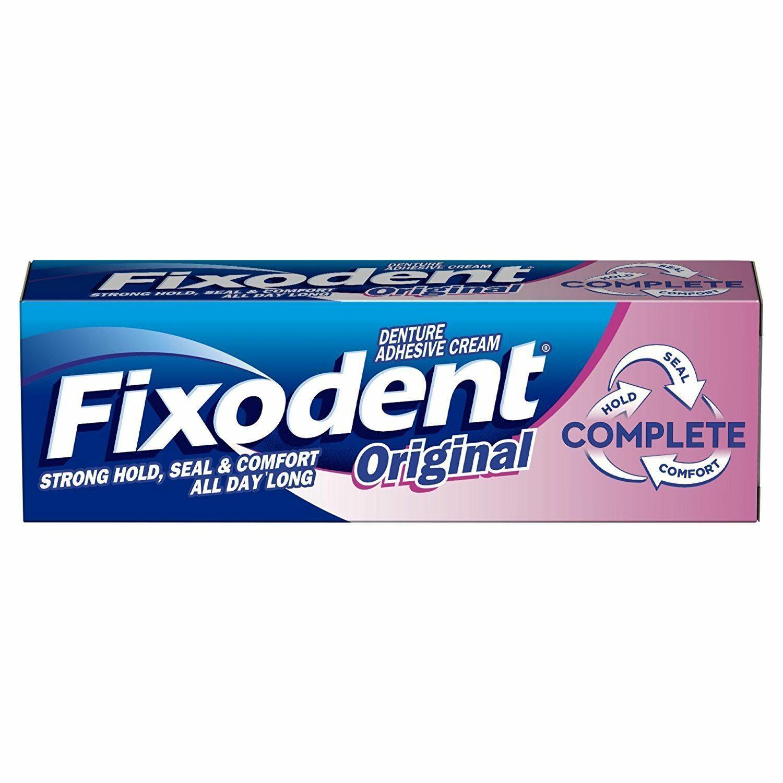 Crema adeziva pentru proteza dentara Complete Original, 40 g, Fixodent imagine produs 2021
