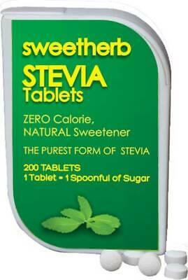 Indulcitor cu extract de stevia, 200 tablete, Sweetly imagine produs 2021