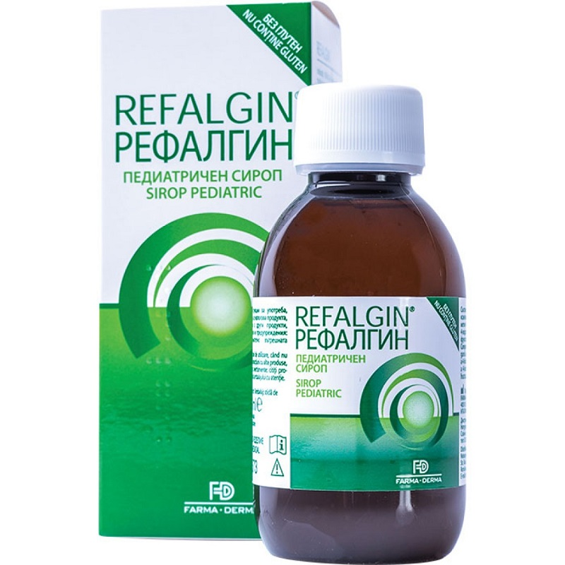 Refalgin sirop pediatric, 150 ml, Farma-Derma la preț mic imagine
