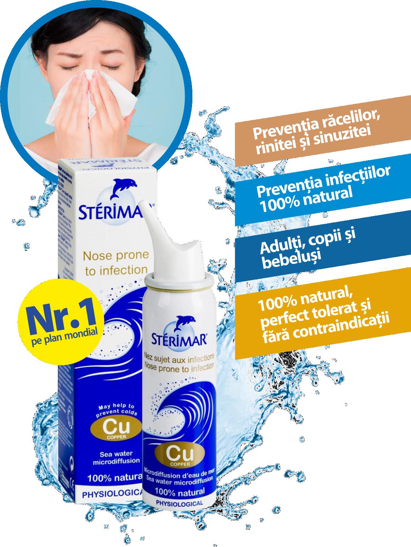 Sterimar Cupru spray cu apa de mare, 100 ml, Laboratoires Fumouze drmax poza