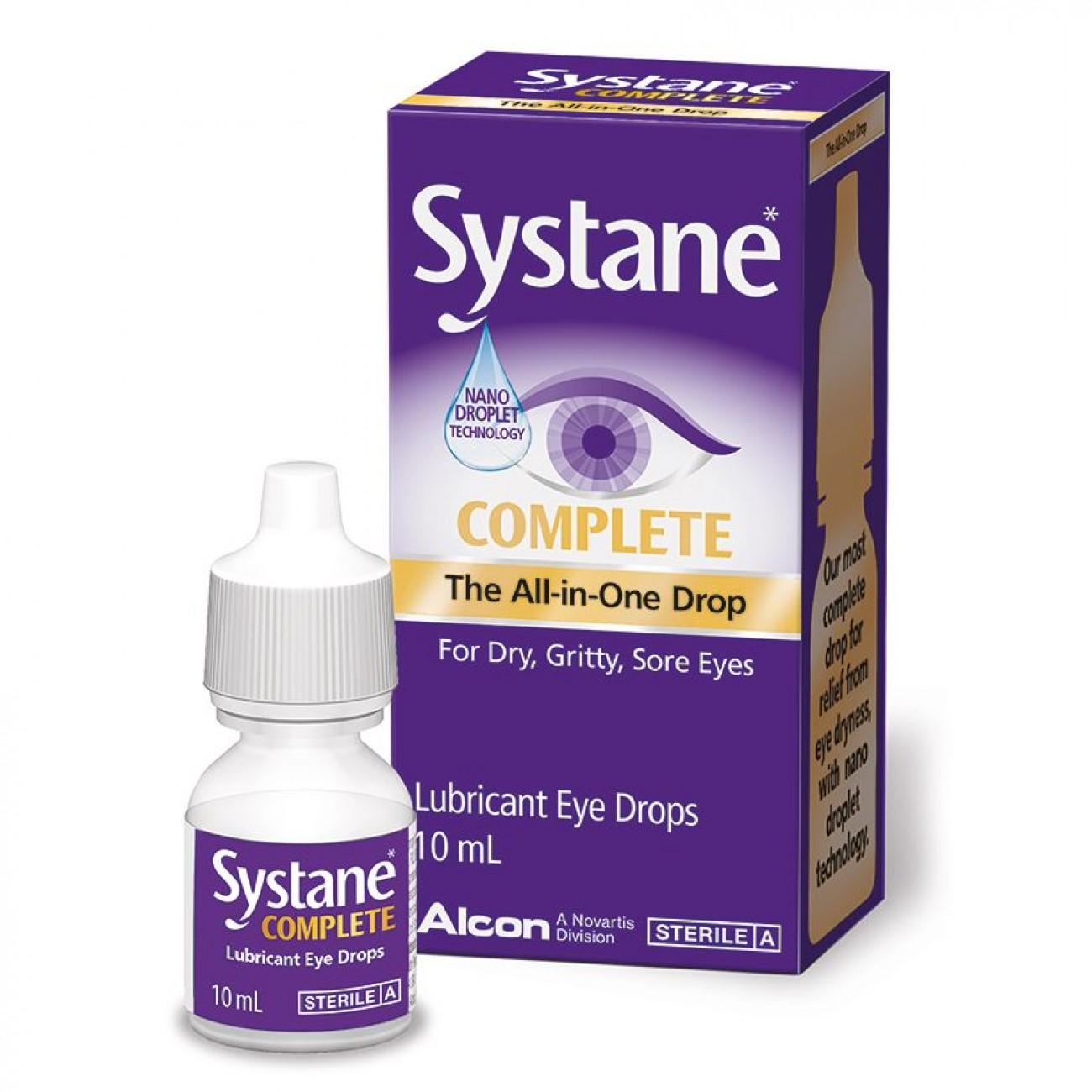 Systane Complete, 10 ml, Alcon drmax poza