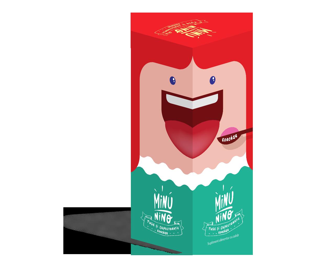 Sirop tuse si expectoratie coacaze Minunino, 100 ml, Medimow drmax.ro