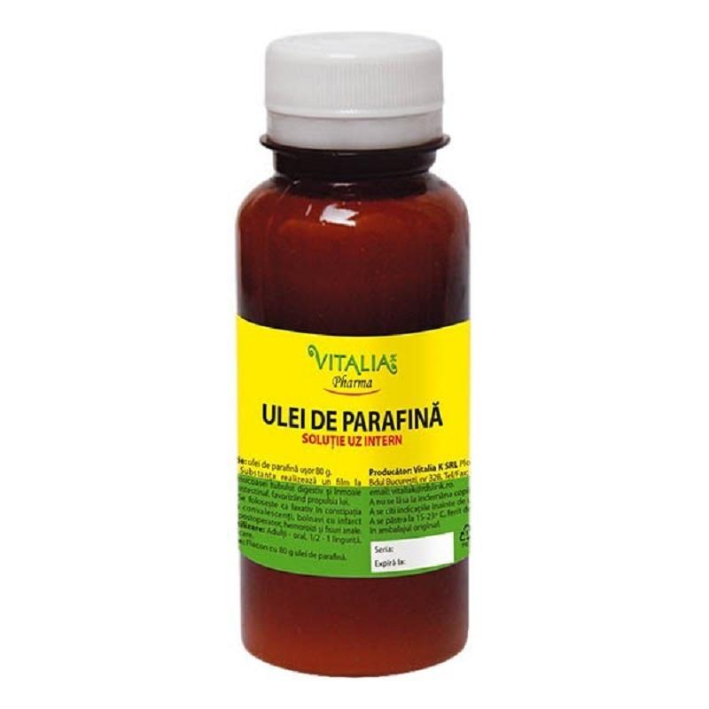 Ulei de parafina, 80 g, Vitalia imagine produs 2021