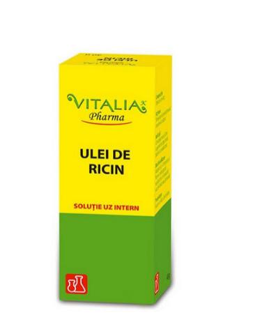 Ulei de ricin, 20 g, Vitalia imagine produs 2021