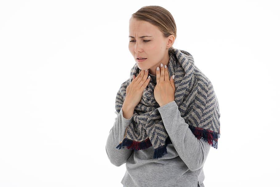 pierderea în greutate frisoane dureroase în gât